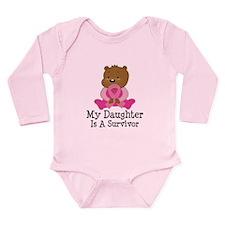 Breast Cancer Survivor Daughter Onesie Romper Suit