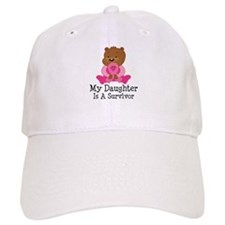 Breast Cancer Survivor Daughter Baseball Cap