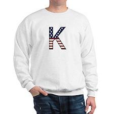 K Stars and Stripes Sweatshirt