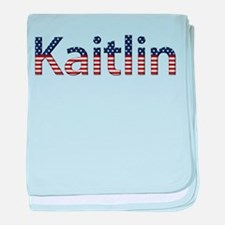 Kaitlin Stars and Stripes baby blanket