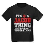 A Jacob Thing Kids Dark T-Shirt