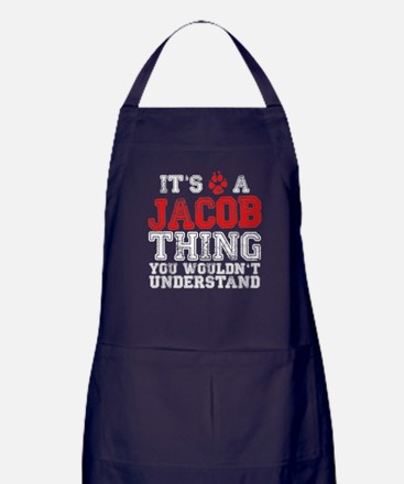 A Jacob Thing Apron (dark)