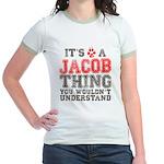 A Jacob Thing Jr. Ringer T-Shirt