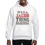 A Jacob Thing Hooded Sweatshirt
