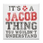 A Jacob Thing Tile Coaster