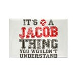 A Jacob Thing Rectangle Magnet