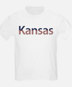 Kansas Stars and Stripes T-Shirt