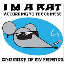 I'M A Rat Framed Print