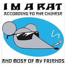 I'M A Rat Poster