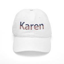 Karen Stars and Stripes Baseball Cap