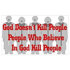 Religious Crazies Poster