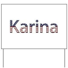 Karina Stars and Stripes Yard Sign