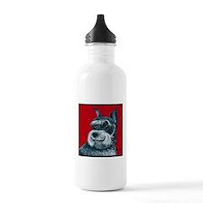 """Schnauzer """"Ruby"""" Water Bottle"""