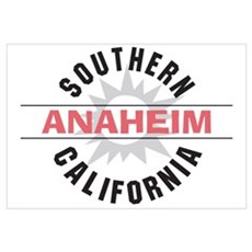 Anaheim California Canvas Art
