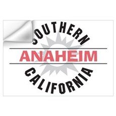 Anaheim California Wall Decal