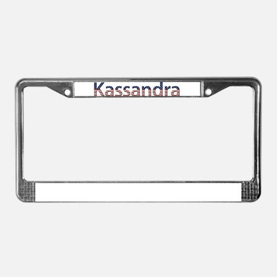 Kassandra Stars and Stripes License Plate Frame