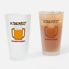 Oktoberfest beginners Drinking Glass