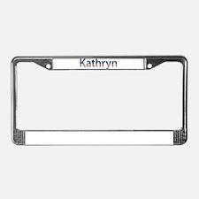 Kathryn Stars and Stripes License Plate Frame