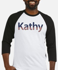 Kathy Stars and Stripes Baseball Jersey