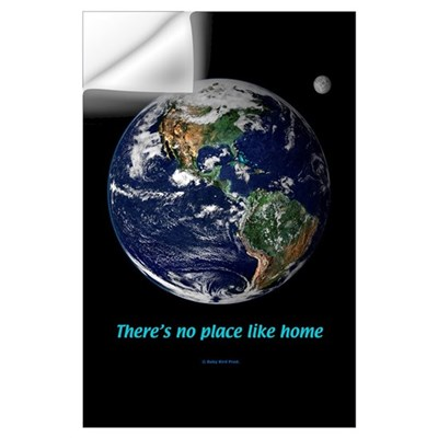 Earth as Seen from Space Wall Decal