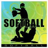 Softball Posters