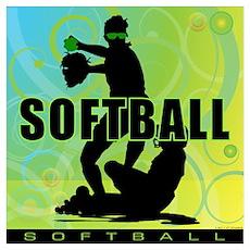 2011 Softball 60 Poster