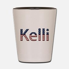 Kelli Stars and Stripes Shot Glass