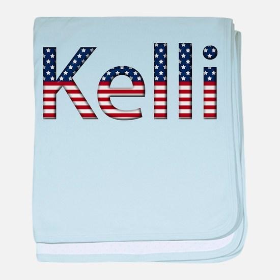 Kelli Stars and Stripes baby blanket