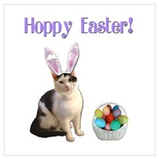 Hoppy Easter Poster