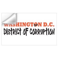 Washington D C Wall Decal