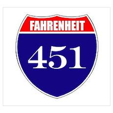 Fahrenheit Route 451 Poster