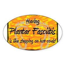 Plantar Fasciitis - Decal