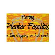 Plantar Fasciitis - Rectangle Magnet (10 pack)