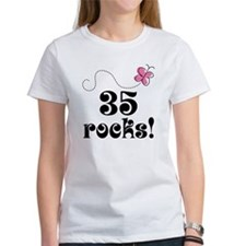35th Birthday Butterfly Tee