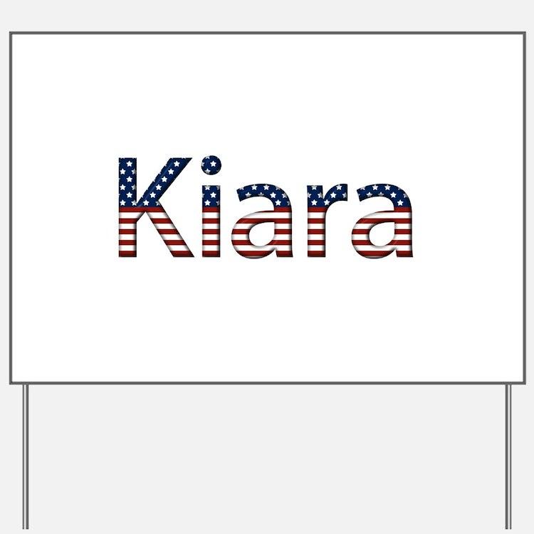 Kiara Stars and Stripes Yard Sign