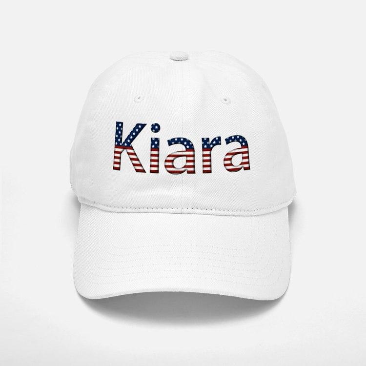 Kiara Stars and Stripes Baseball Baseball Cap