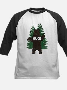 Bear hug? Kids Baseball Jersey