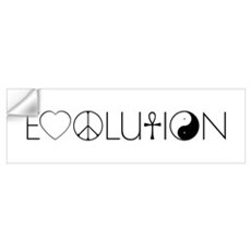Evolution Values Wall Decal