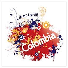 COLOMBIA RETRO Poster