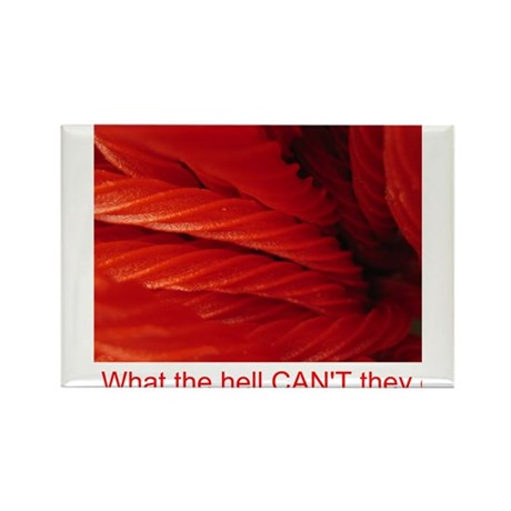 Licorice Rectangle Magnet (100 pack)