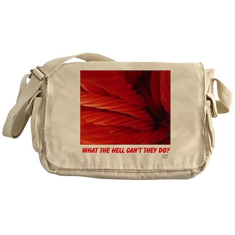 Licorice Messenger Bag