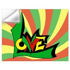 One Love Wall Decal
