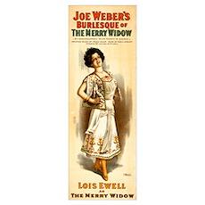 Lois Ewell Burlesque Poster