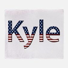 Kyle Stars and Stripes Throw Blanket