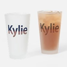 Kylie Stars and Stripes Drinking Glass