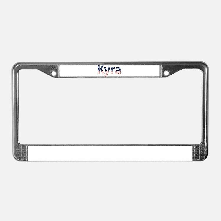 Kyra Stars and Stripes License Plate Frame