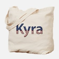 Kyra Stars and Stripes Tote Bag