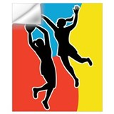Netball Wall Decals