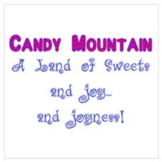 Candy Mountain Poster