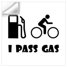 I Pass Gas Wall Decal
